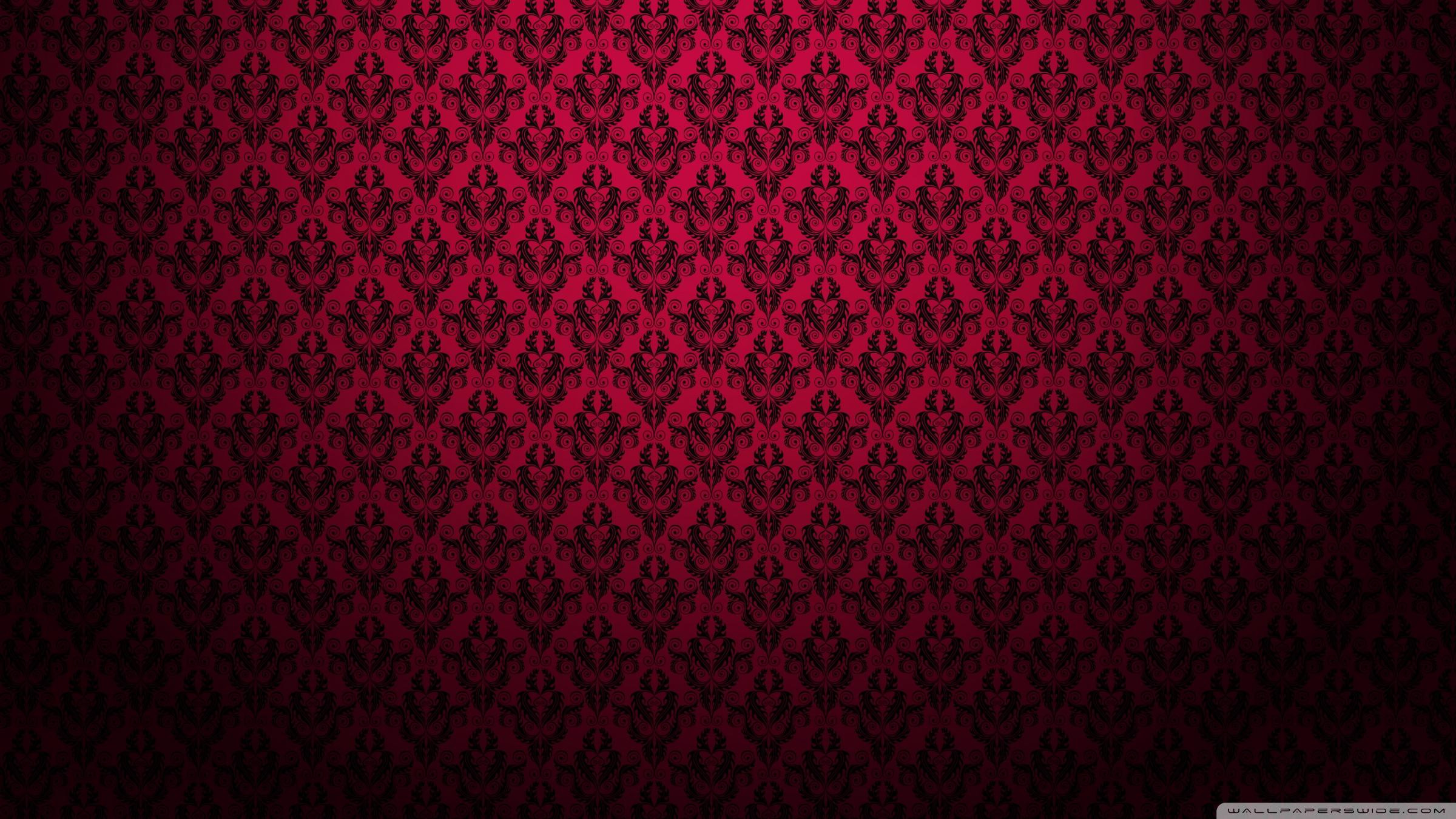 Elegant Black And Red Background on Indian Patterns